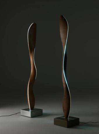 Fiamma Lamp, Riva 1920, Italy, 2013 Kauri Wood Limited edition of 8